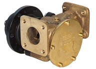 "1½"" bronze pump, <b>200-size</b>, flange-mounted with flanged ports"