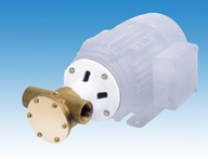 "3/4"" B40 Bronze Flexible Impeller Motor Pump Unit"