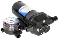 Self-priming diaphragm pump 12 volt d.c.