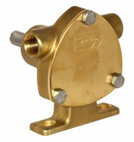 3/8&quot; bronze pump, <b>20-size</b>, foot-mounted with BSP threaded ports