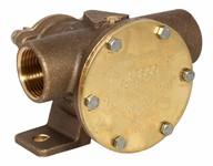 1&quot; bronze pump, <b>80-size</b>, foot-mounted with BSP threaded ports