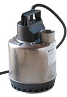 Submersible pump <u>without</u> float switch, 230v/1 phase/50Hz