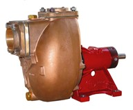 "2"" Bronze Self-priming Centrifugal Pump <em>with open impeller</em>"